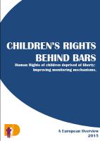 Children's rights behind bars